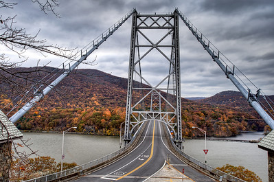 Bear Mountain Bridge, Bear Mountain, NY.