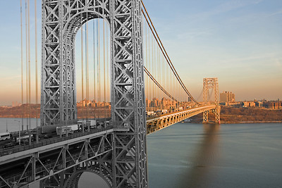 George Washington Bridge, Fort Lee, NJ.