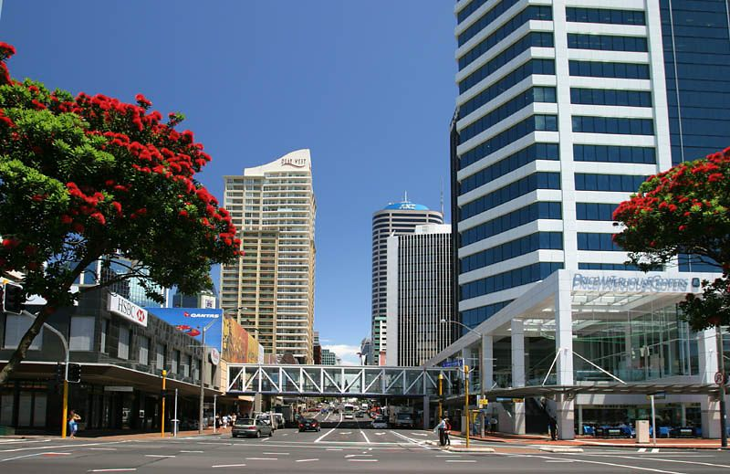 Downtown Auckland, New Zealand ©Tomas del Amo 2004