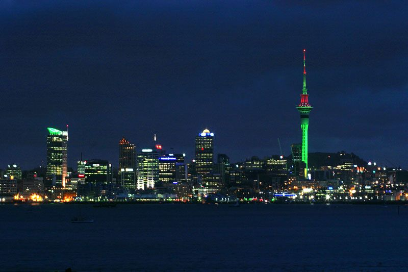 Auckland, New Zealand  ©Tomas del Amo 2004