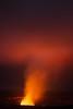 Fiery magma glowing in Kīlauea Caldera on the Big Island.<br /> Photo © Carl Clark