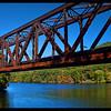 Railroad bridge near Bratleboro, VT