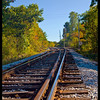 Railroad tracks near Bratleboro, VT