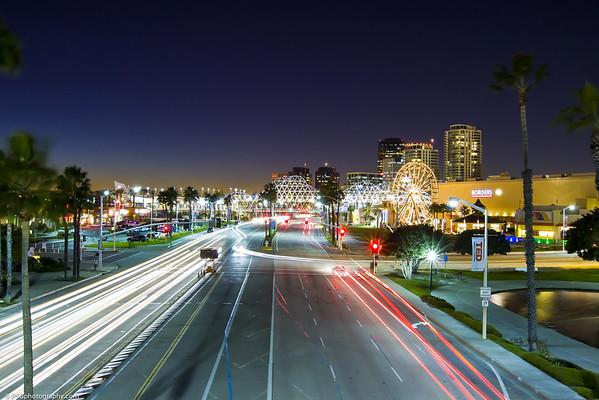 Long Beach California - Ocean Blvd