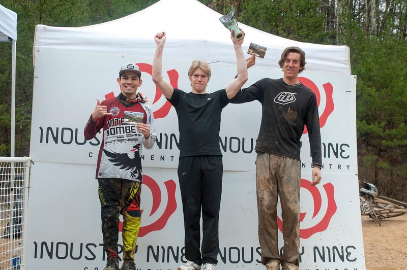 Amateur Men: 1st Place Seth Kemp; 2nd Place Zachary Hutelin; 3rd Place Patrick Alcisto