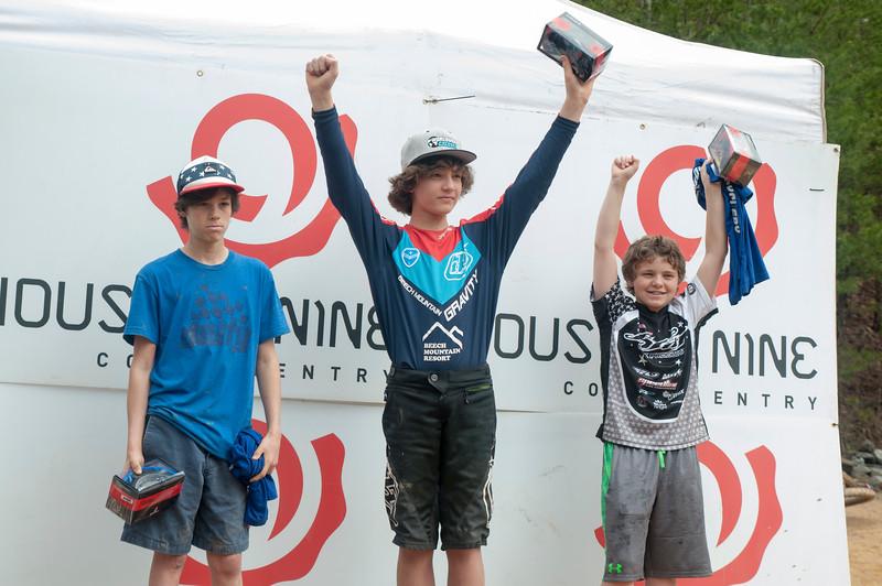 Junior: 1st Place Ben Richter; 2nd Place Chris Grice; 3rd Place Sam Kahn