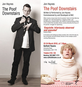 The Poof Downstairs by and with Jon Haines