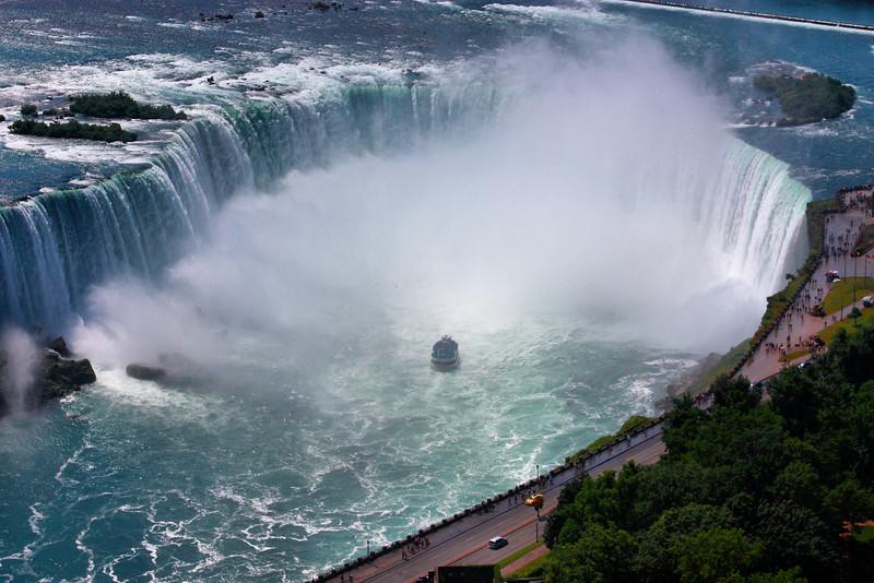 Canadian side of Niagara Falls.