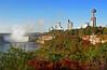 Horseshoe Falls and Niagara city view