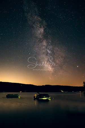 Milky Way Over Little Squam