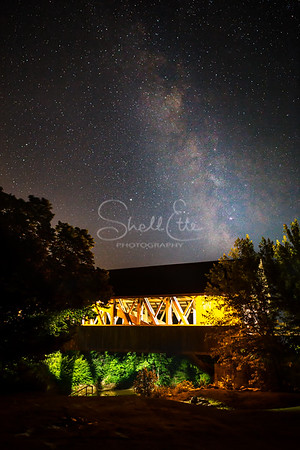 Smith Covered Bridge Milky Way