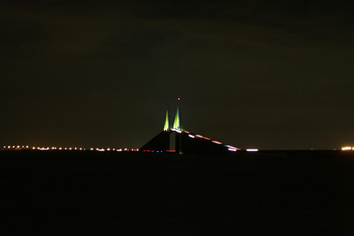 July 2012 Tampa Florida Photography Trip. Skyway Bridge over Tampa Bay. Photography By Lloyd R. Kenney III (C) 2012. All Rights Reserved.