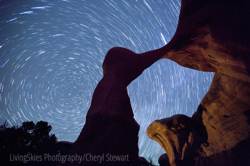 Star Trails, Utah