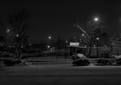 Broadway Diner, January 2011