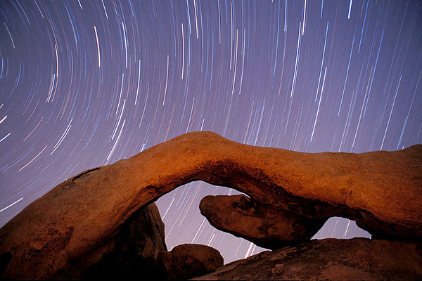 #202 Arch & Star Trails, Joshua Tree NP, CA