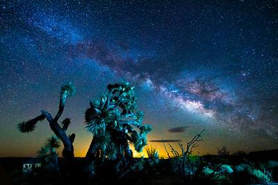 Joshua Against the Milky Way