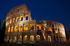 The Colosseum at Twilight, Rome, Italy