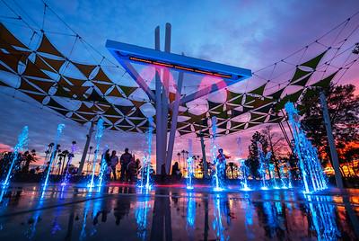 Pioneer Park's new Splash-Pad by Vortex International