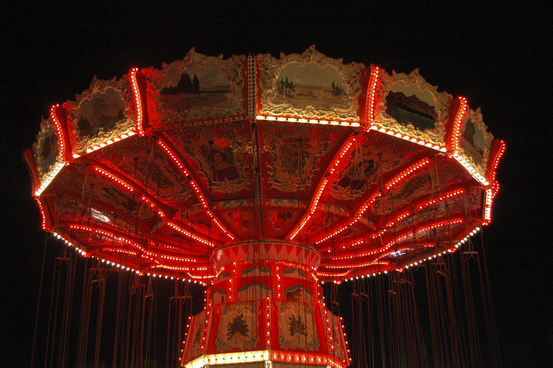 The swings at the M.B. Pavilion, SC 2007
