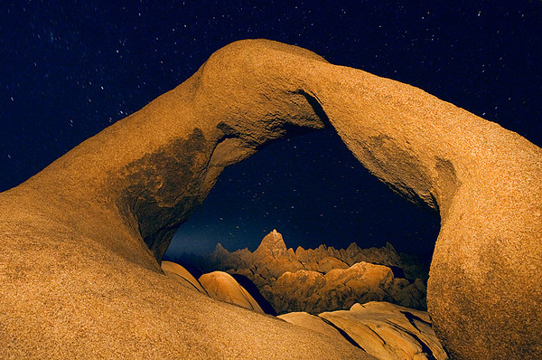 #251 Mobius Arch by Flashlight, Alabama Hills, CA