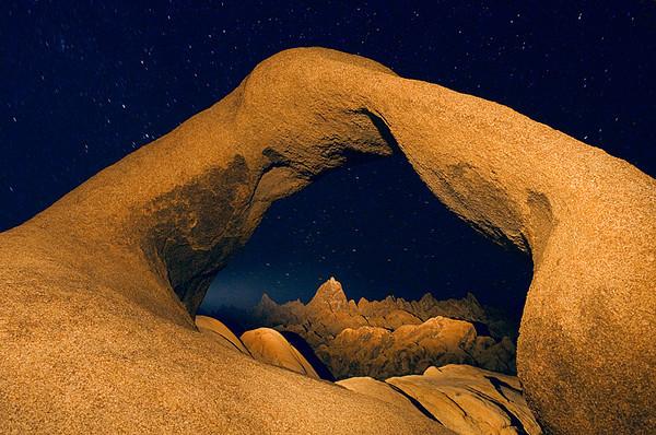#251 Mobius Arch by Flashlight, Alabama Hills, CA