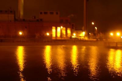 River Walk. Pueblo, CO Looking towards the power plant