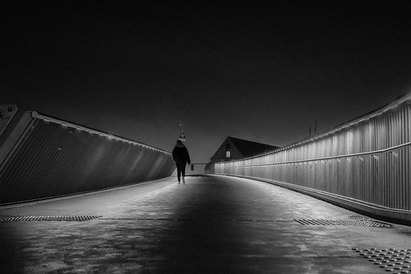 Walking The Kissing Bridge, Copenhagen