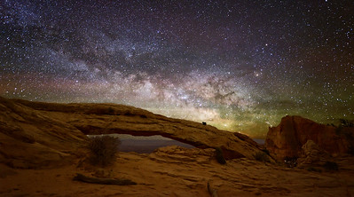 Milky Way at Mesa Arch