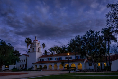 The Bell Tower at Cal State U Chanel Islands