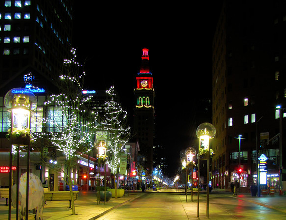 16th Street Mall, Denver Colorado.