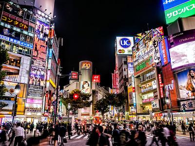 Shibuya Crossing  Tokyo, Japan