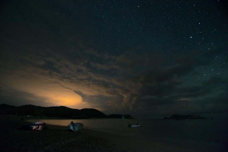 Night over Bahia San Agustin