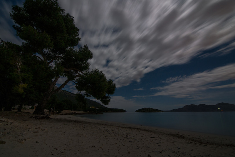 Night Clouds over Water