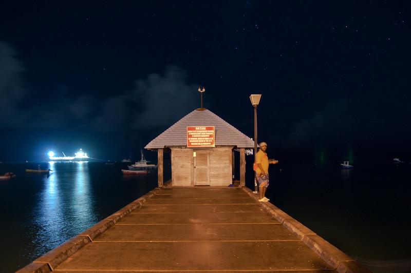 Oistings Fishing wharf, Barbados