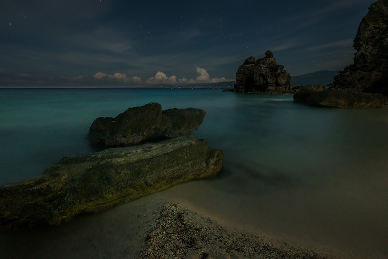 Night over Apo Island