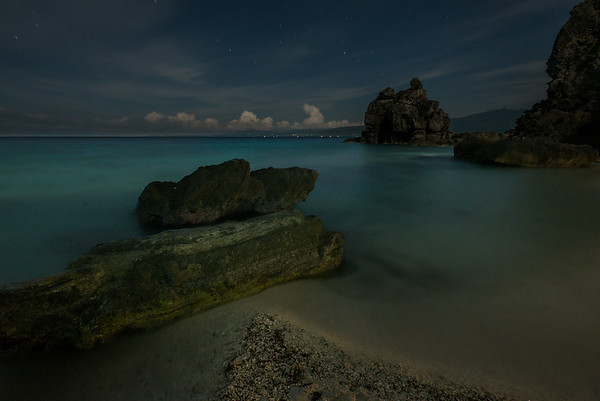 Night over Apo Island