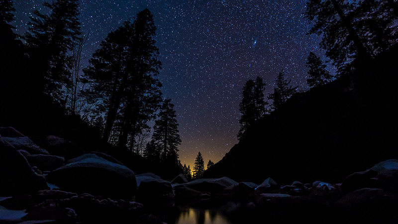 Starry Night in Yosemite