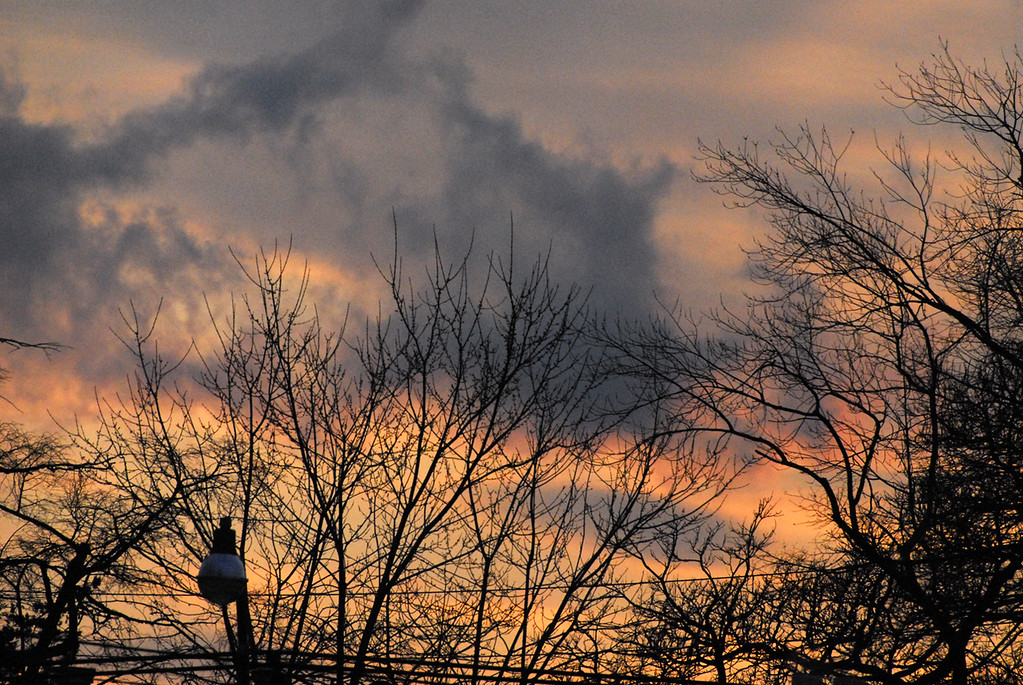 March 2 2007 sunset