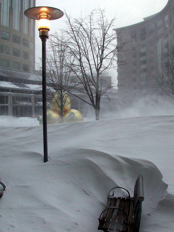 Snowdrifts (Boston Dec 2003)