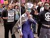 Anti War protest Boston.
