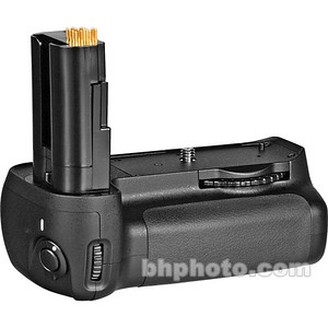 The MB D80 Battery Pack and Vertical Grip