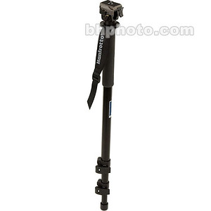 679B 3 Section Monopod (Black) with 3229 Swivel/Tilt Head (Quick Release) - Supports 6 lb (2.7 kg)