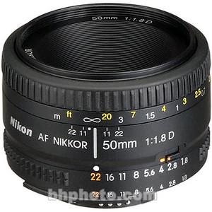 SOLD, Dec.29, 2009. Nikkor 50mm f/1.8D AF lens, purchased Feb. 2008.