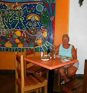 La Choza restaurant. Cozumel.