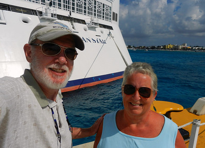 Off to lunch in Cozumel.