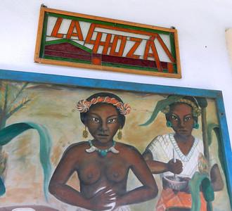 La Choza restaurant. Cozumel. Good Mexican food.