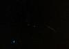 Geminid meteors over Montauk, New York