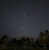 Space X Starlink satellite train flies over Rapid City, South Dakota
