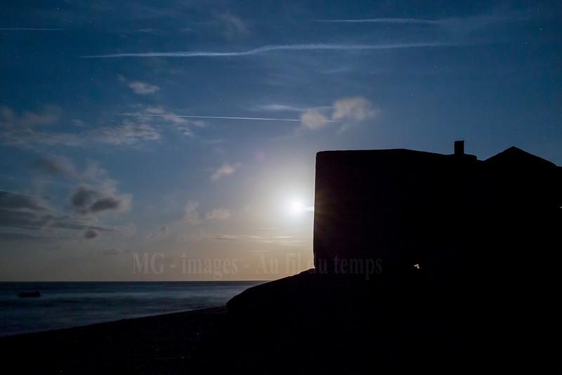 Néville sur mer, batterie Blankenese, f/8, 6 sec, iso 6400, 35 mm