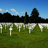 Cemetary for American troops in Normandy France